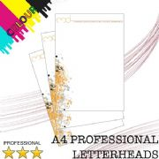 A4 Professional Letterheads